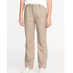 Old Navy Kids Uniform Khaki Pants, Straight